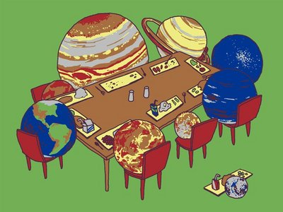 Planet Pluto und Teen